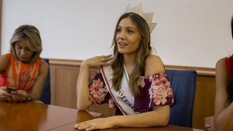 Miss Italia in Calabria, visita in redazione al QuotidianoOspite nelle tappe del concorso a Cosenza e Crotone