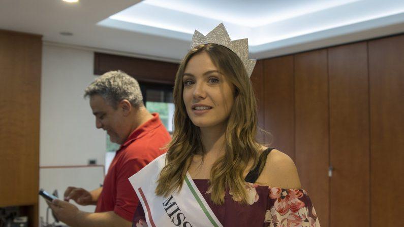 VIDEO - Miss Italia in Calabria: le immagini della visita al Quotidiano
