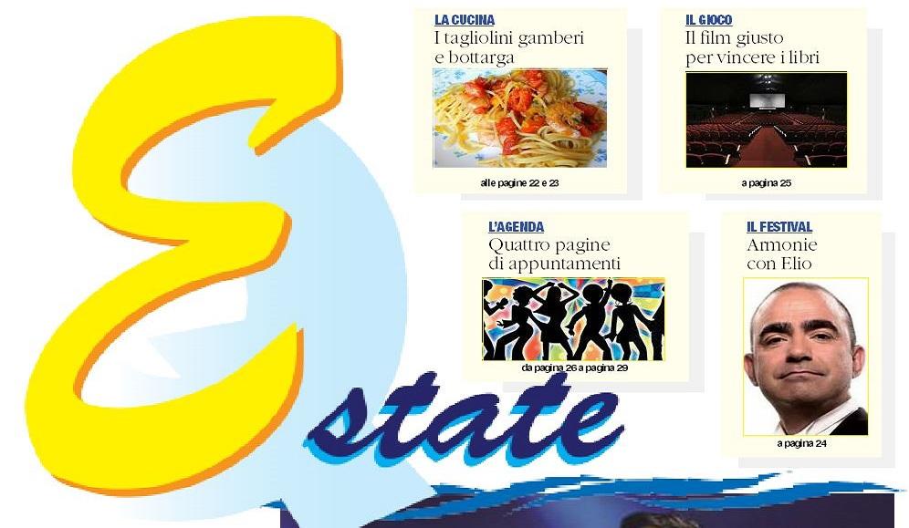 Arriva l'Estate e con essa l'inserto del QuotidianoUn'onda di notizie per raccontare gli eventi della Calabria