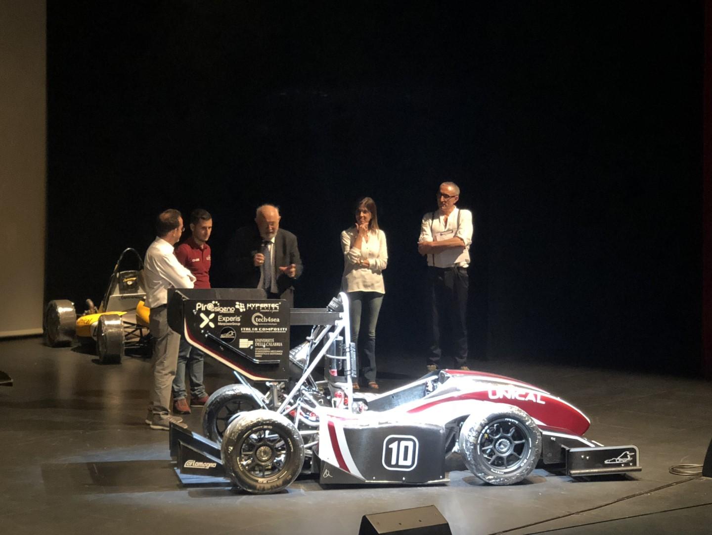 Presentata la nuova vettura dell'Unical:Ecco Nemesis 2018Il bolide frutto del lavoro di un equipe di 60 persone