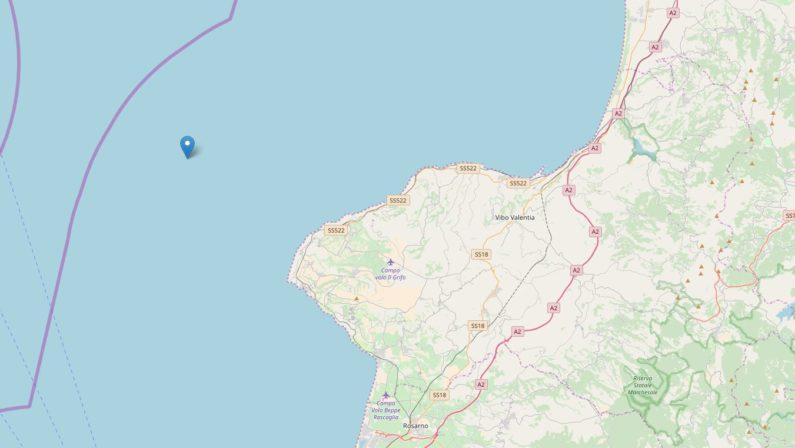 Diverse scosse di terremoto nei mari della CalabriaRegistrate al largo di Tropea e Melito Porto Salvo