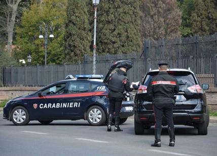 Un controllo dei carabinieri