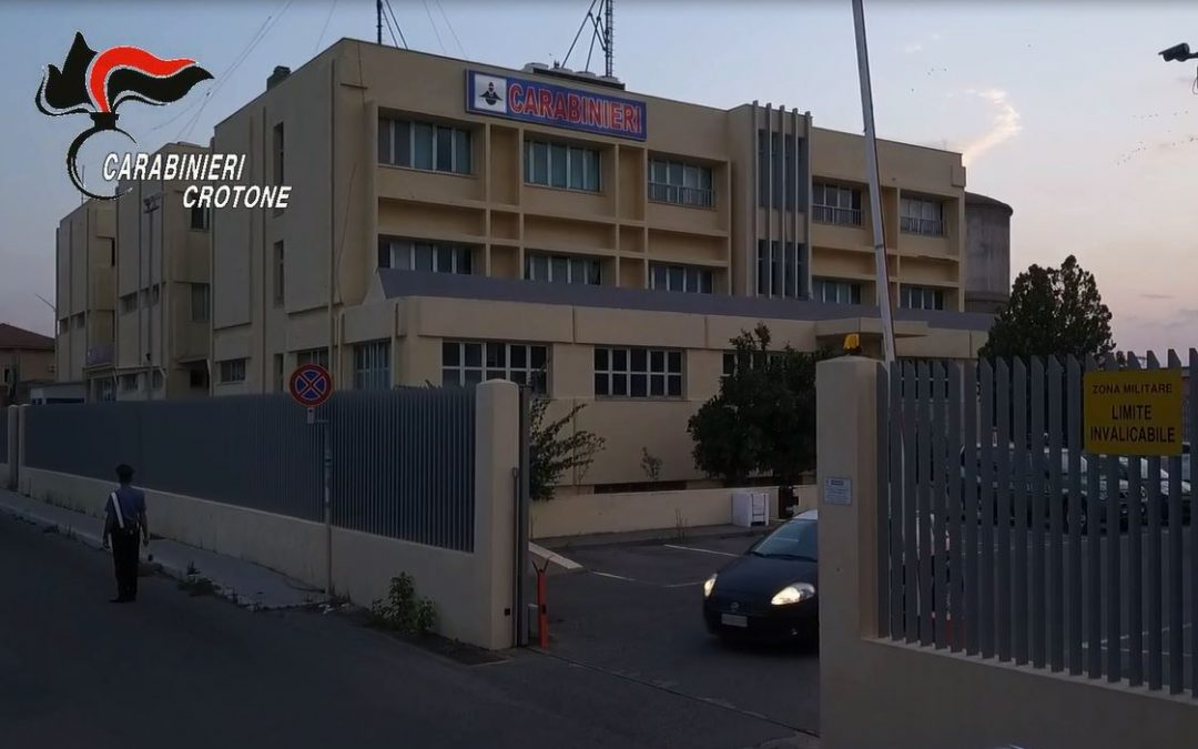 Crotone, trovati in possesso di droga, arrestate due persone titolari del reddito di cittadinanza