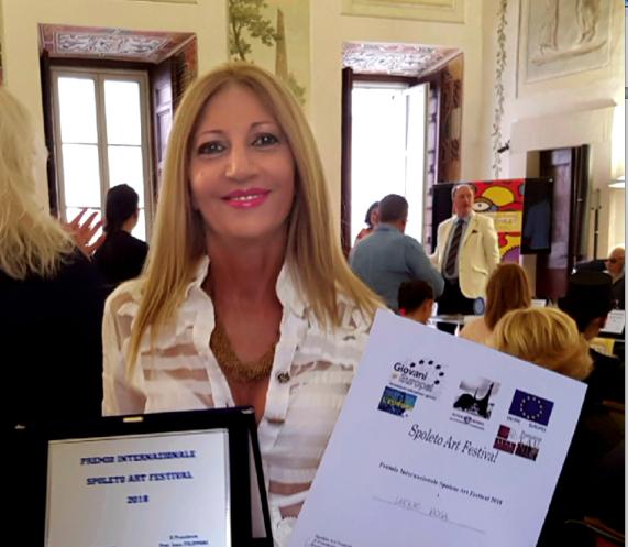 Premio Internazionale Spoleto Festival Art 2018, tra i vincitori la pittrice campana Leone
