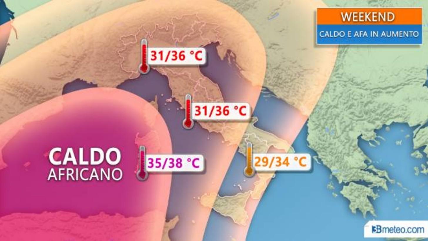 Meteo, in Calabria estate ancora incerta ma per pochi giorniDalla prossima settimana gli effetti dell'anticiclone africano
