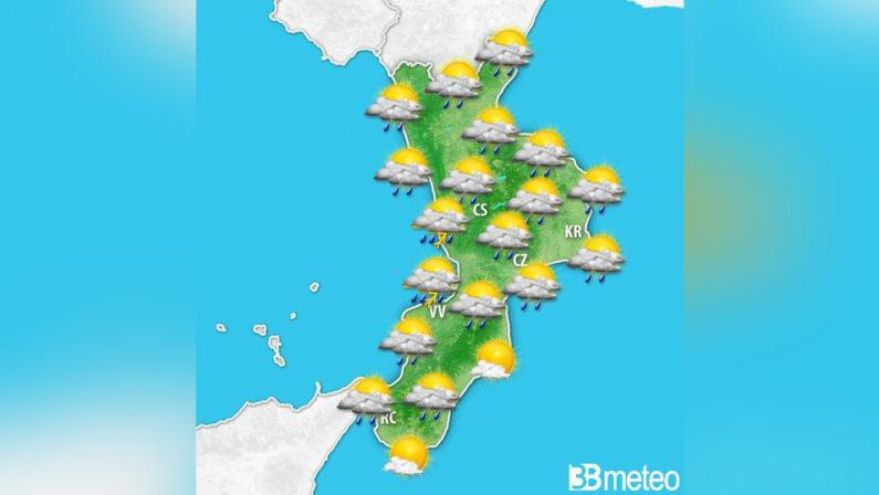 Ferragosto a forte rischio pioggia in CalabriaLa Protezione dirama una allerta gialla per la regione