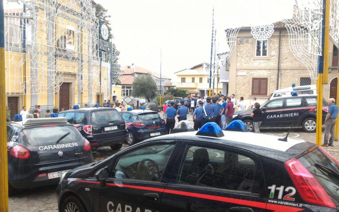 Boss bloccato durante processione a Zungri nel Vibonese il vescovo: «Fatto increscioso, non avrebbe dovuto verificarsi»