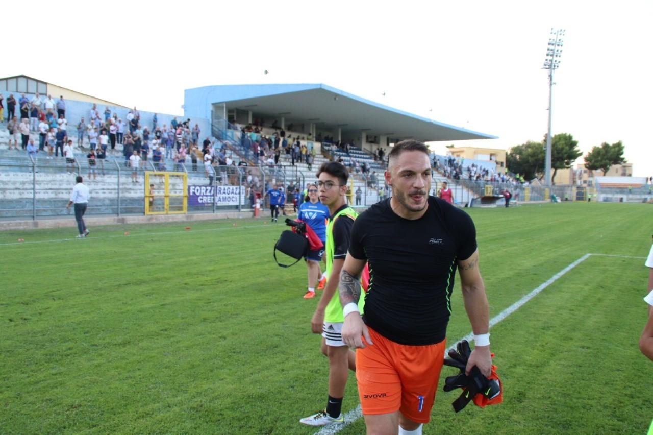 Derby di Coppa Italia, portiere del Matera Ioime squalificato e partita persa a tavolino