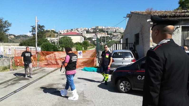 Catanzaro, cadavere trovato in un'autoA morire un 33enne residente a Crotone