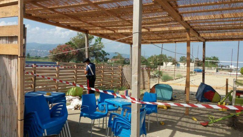 Strutture abusive in stabilimenti balneari di Corigliano Rossano, scattano i sequestri