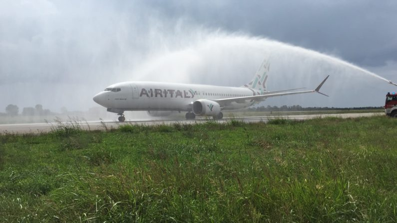 Air Italy inaugura il primo volo Lamezia - MilanoNuovi collegamenti per l'aeroporto calabrese