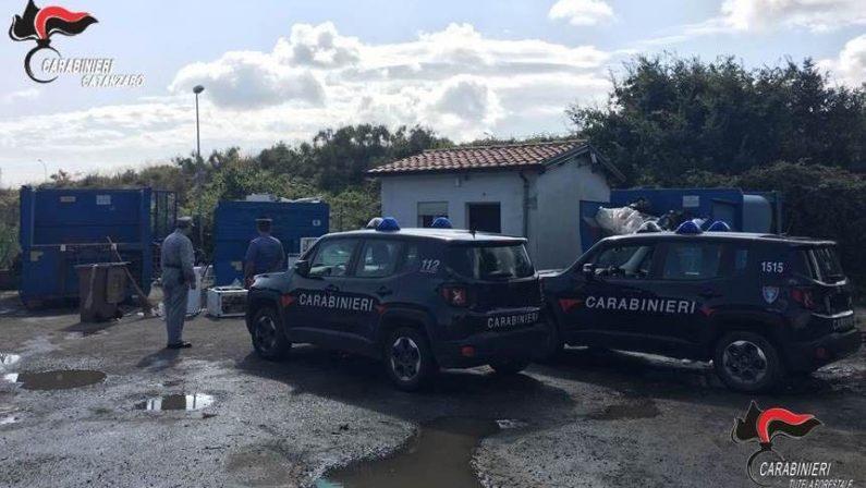 Mancato rispetto delle norme igienico sanitarieDue denunce per l'isola ecologica di Girifalco