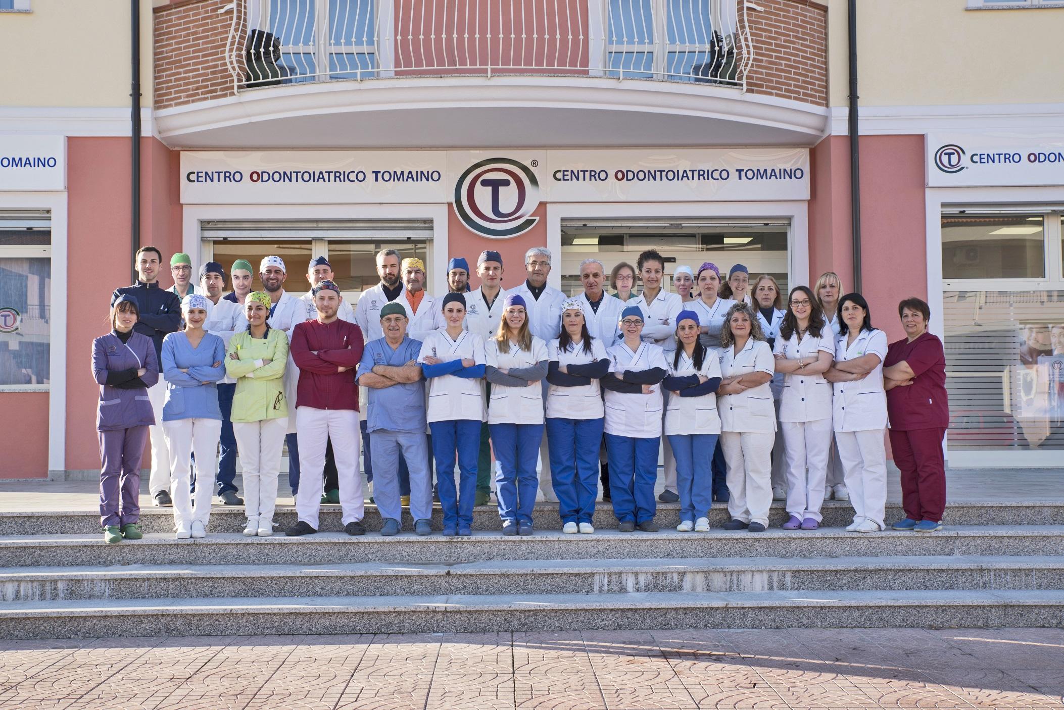 Centro Odontoiatrico Tomaino a SatrianoUna risposta alle esigente dei pazienti