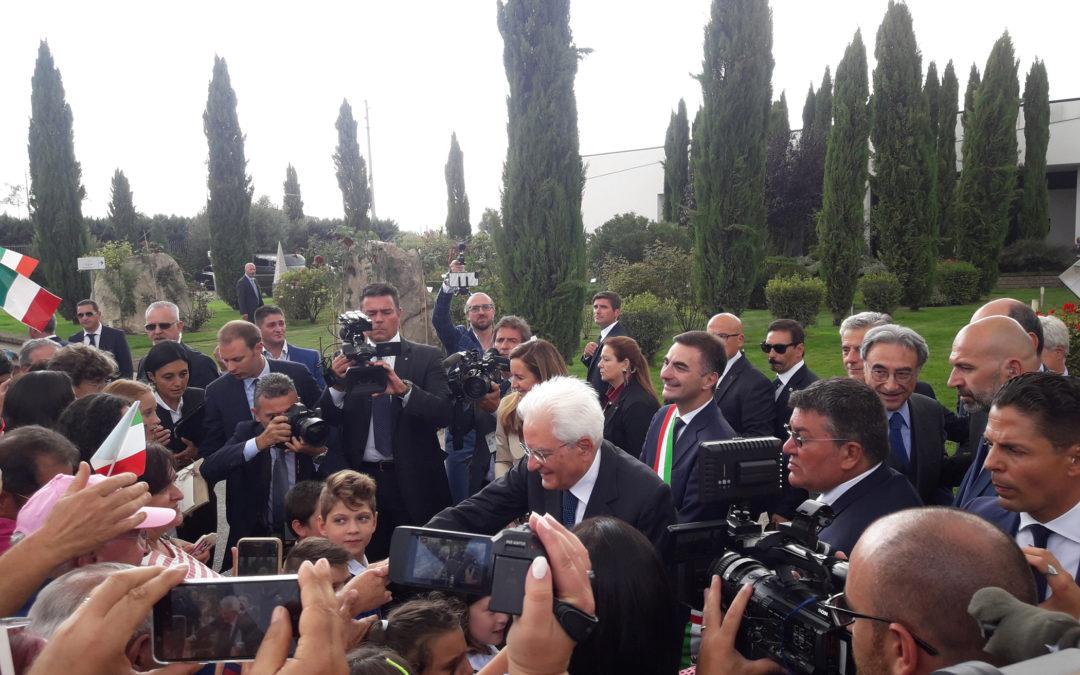 Ariano accoglie il Presidente Mattarella: c'è anche Ciriaco De Mita