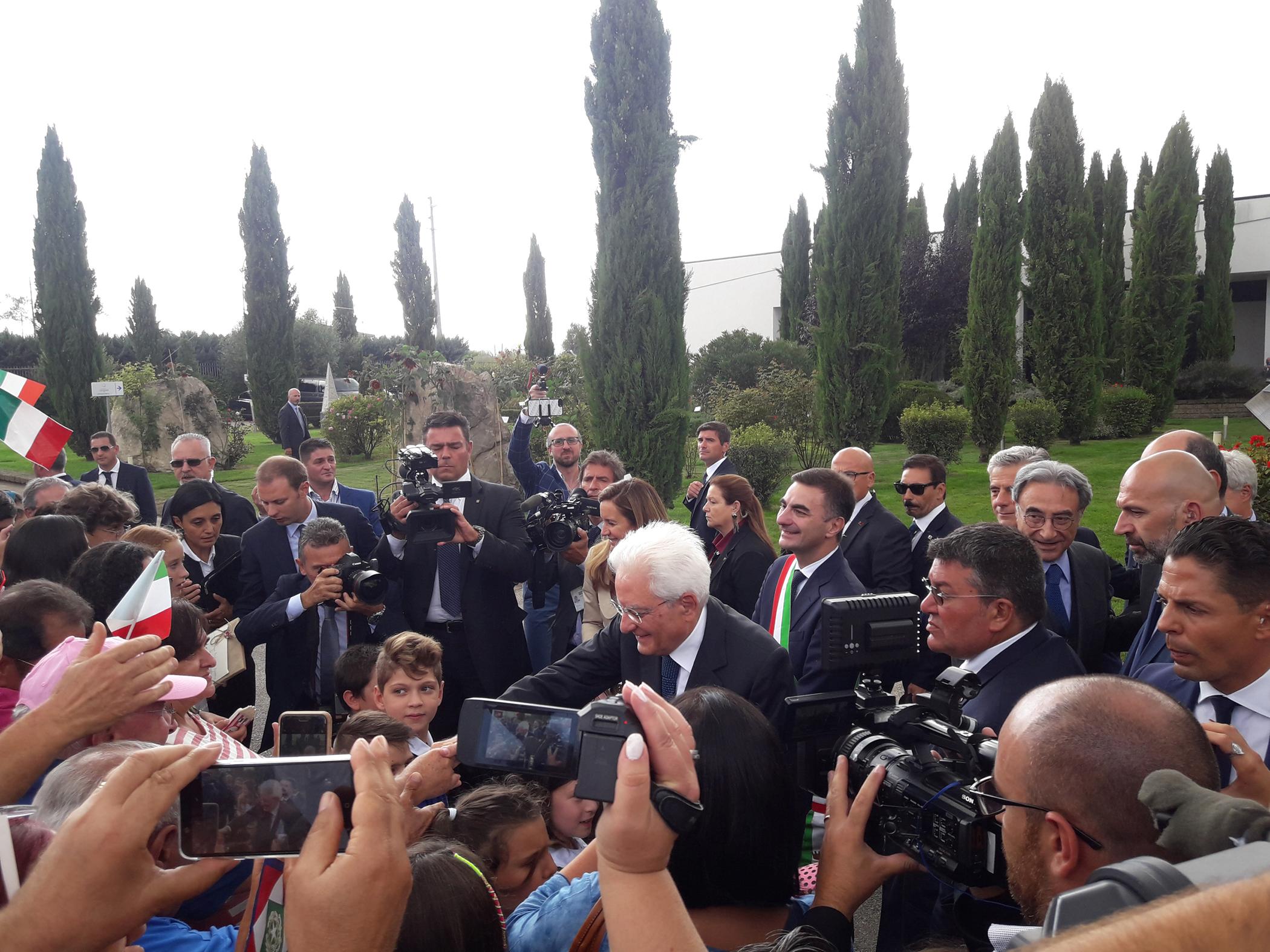 Ariano accoglie il Presidente Mattarella: bisogna fidarsi della scienza
