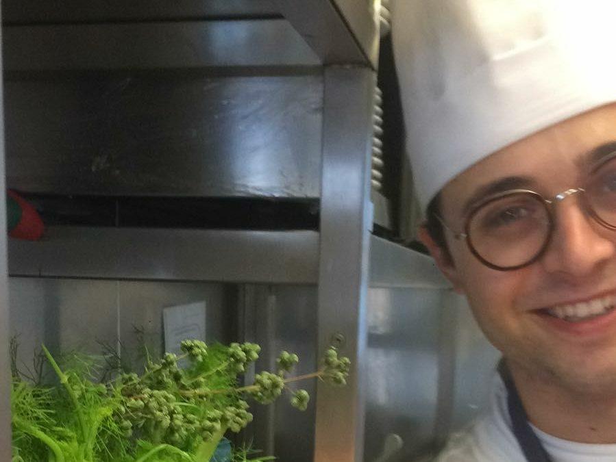 Lo chef materano Michele Di Già, 22 anni (foto da facebook)