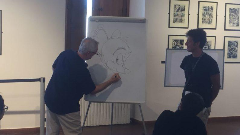 """Festival del Fumetto, """"Le strade del paesaggio""""  Il suggestivo workshop a Cosenza con John Pomeroy"""