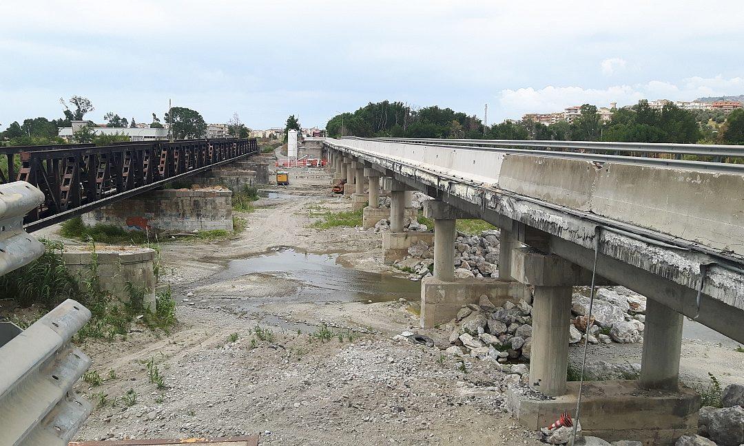 Il ponte sull'Allaro, a Caulonia