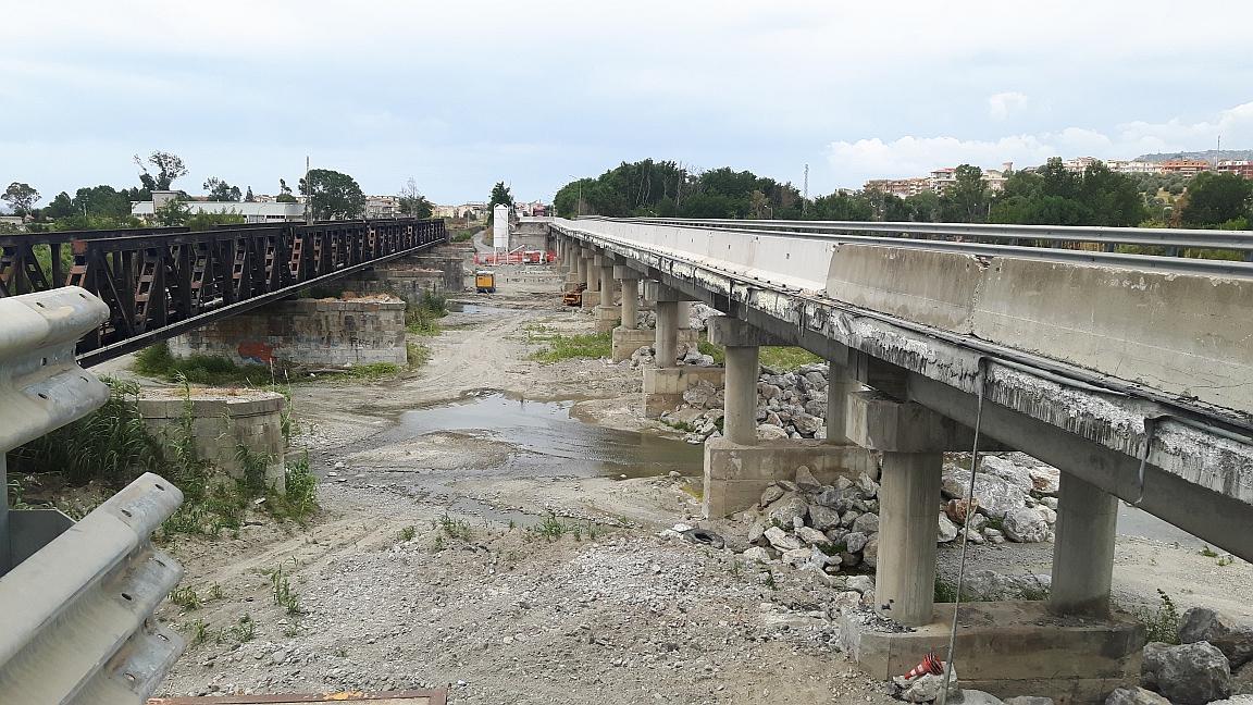 Ponte sull'Allaro, i lavori sul percorso alternativo  L'Anas annuncia l'inizio a partire da novembre