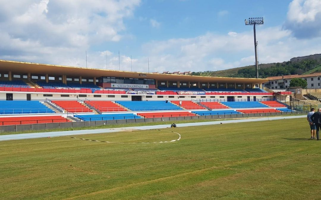 Lo stadio San Vito Marulla