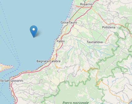 Due terremoti nel Reggino: magnitudo 3.5 e 2.4Interessate sia la costa ionica che quella tirrenica