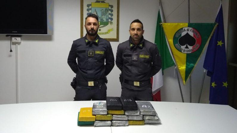 Sequestrata cocaina per un valore di oltre 3,5 milioni di euroEra nascosta al Porto di Gioia Tauro tra i semi di girasole