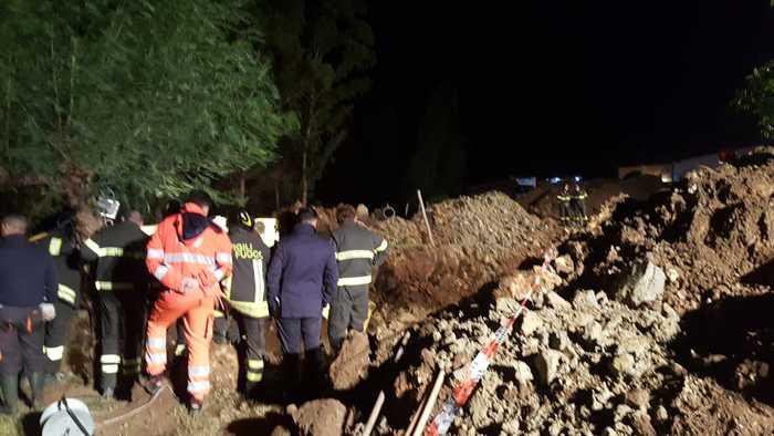 Tragedia a Crotone, 4 morti, c'è anche Marrelli  L'imprenditore e tre operai sepolti da una frana