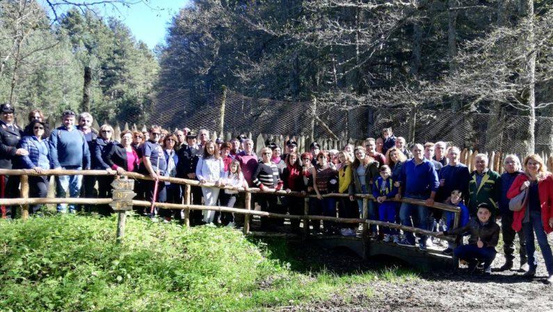 """A Cupone nella Sila cosentina la festa della Foresta  Grande partecipazione all'evento """"ForestAmica"""""""