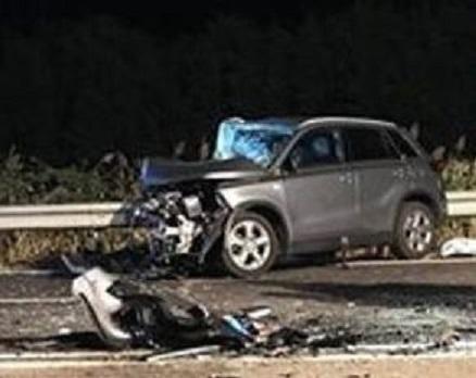 Tragico incidente stradale nel Materano Muore una donna di 44 anni, ferito il marito