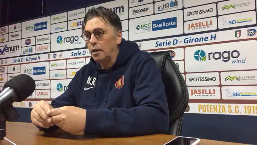Nicola Ragno esonerato dal Potenza Calcio  Giuseppe Raffaele scelto per succedergli