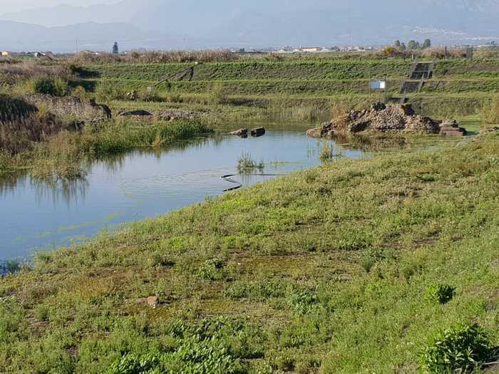 Di nuovo sommersa dalle acque l'area archeologica di SibariLe piogge copiose hanno allagato il parco dell'antica città