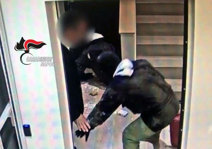 Napoli, arrestati 4 topi di appartamento