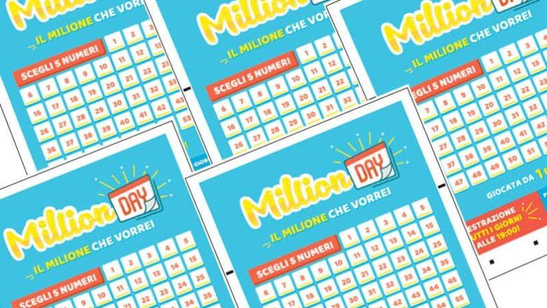 La fortuna sbarca nel Cosentino, vinto 1 milioneCentrata la cinquina col nuovo gioco MilionDay