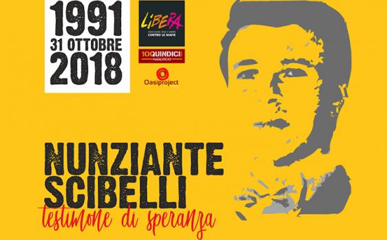 Al Maglificio 100Quindici gli studenti e Libera ricordano Nunziante Scibelli