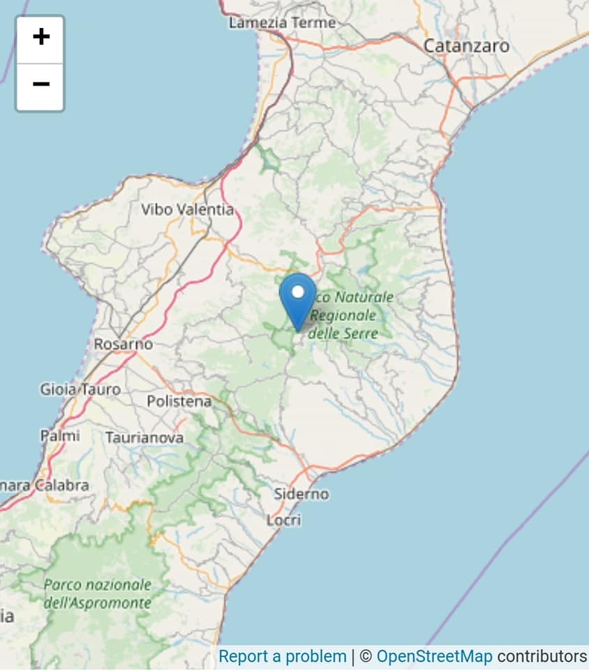Scossa di terremoto registrata nel ViboneseL'epicentro nell'area delle Serre: nessun danno