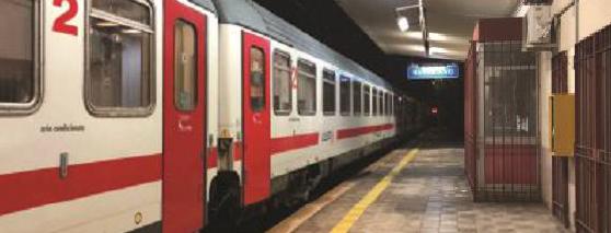 Treno Intercity per Roma bloccato 5 ore appena partito da Potenza