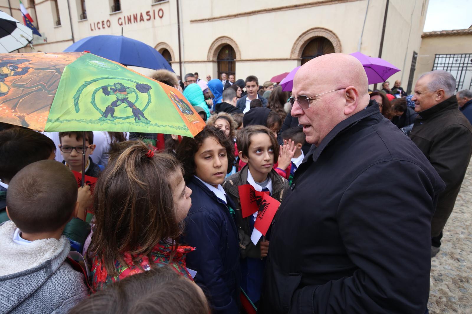 FOTO - Il Presidente Mattarella in Calabria: la visita alle comunità arbereshe