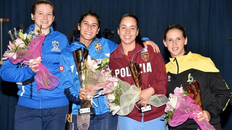 Scherma, la lucana Francesca Palumbo vince la gara di fioretto femminile a Bastia Umbra