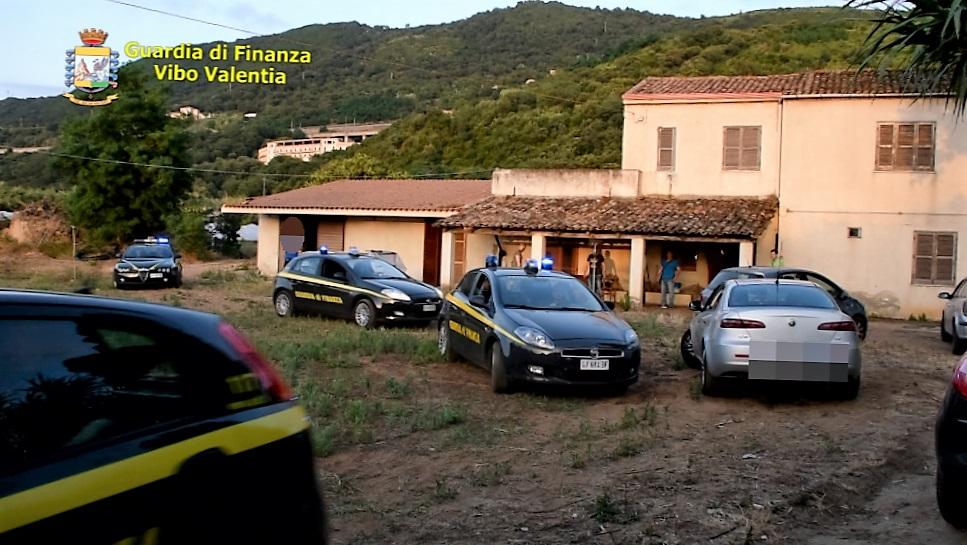 Produzione e traffico di marijuana da 20 milioni  Eseguite due misure cautelari nel Vibonese