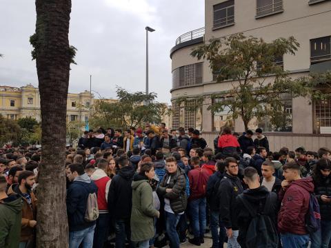 Protesta studenti catanzaro