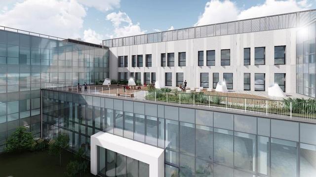 FOTO - Ecco come sarà il nuovo ospedale della PianaI rendering del nosocomio da costruire a Gioia Tauro