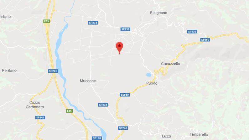 Scossa di terremoto nel CosentinoA Bisignano registrata magnitudo 3.4