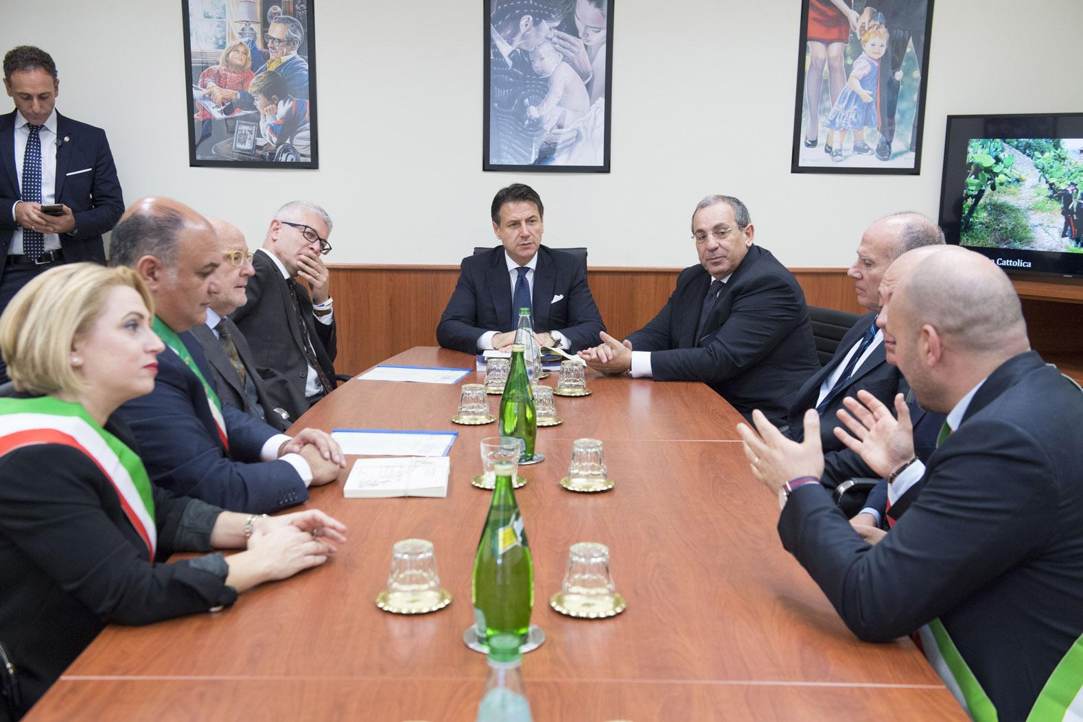 Il presidente del Consiglio Giuseppe Contescrive al Quotidiano del Sud l'Altravoce dell'Italia«Dovremmo dare al Sud il 6% di spesa in più»