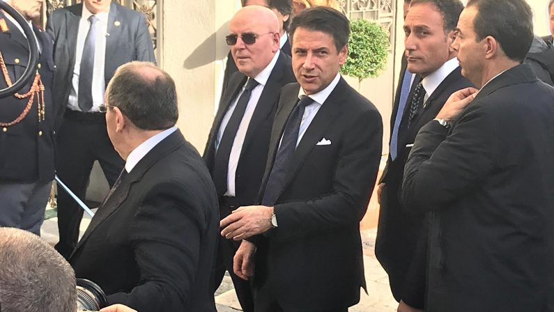 Conte a Salerno ha incontrato cento sindaci del territorio cilentano