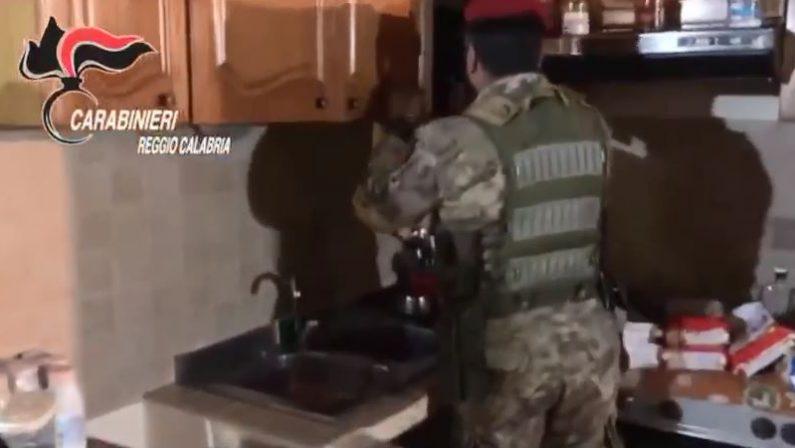 """'Ndrangheta, latitante scovato in una dependance  Era sfuggito all'arresto nell'operazione """"Ares"""""""