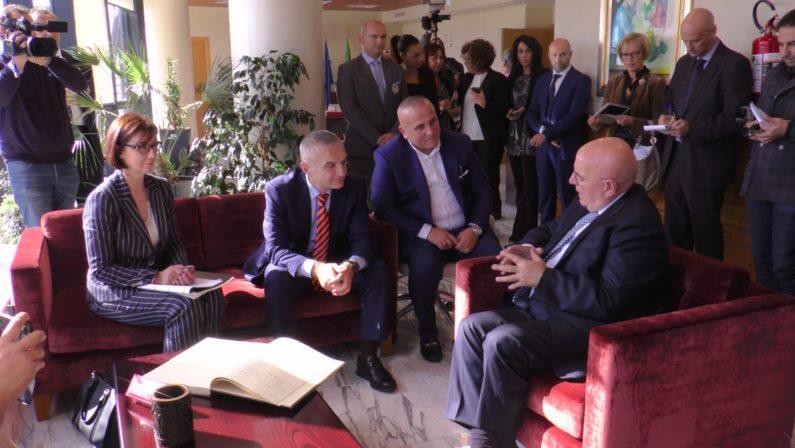 Il presidente dell'Albania in visita in CalabriaLa festa e l'integrazione delle comunità arbereshe