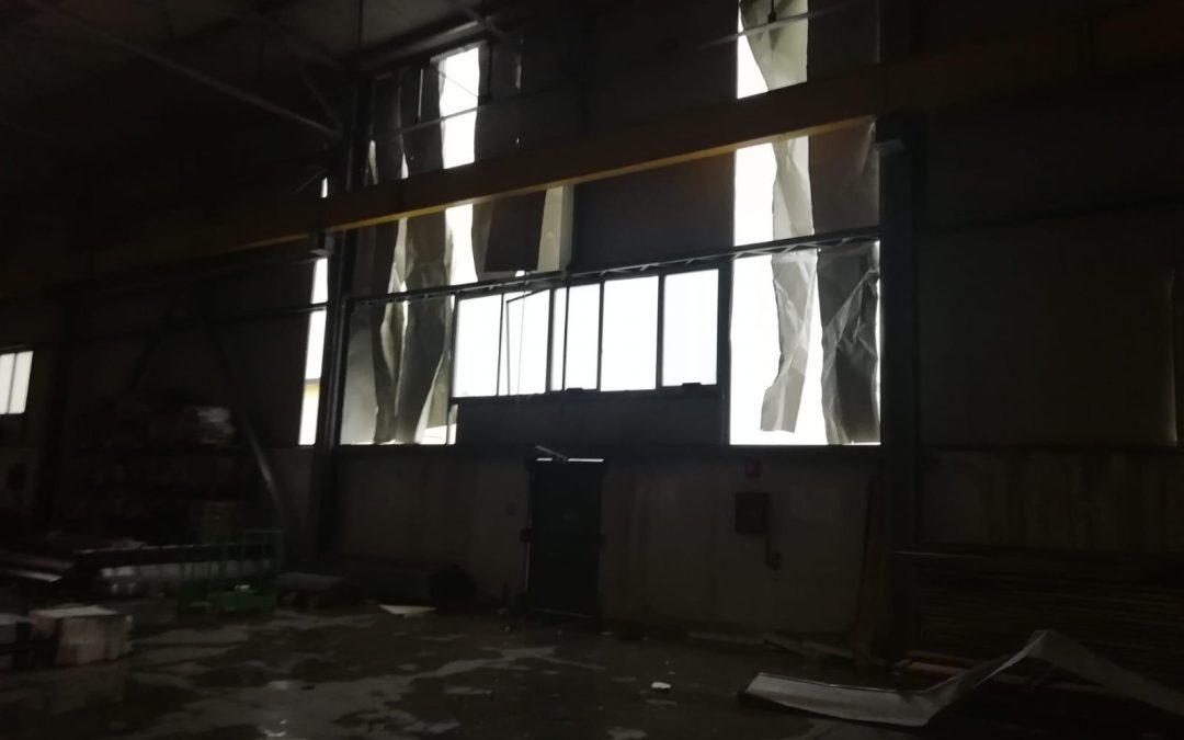 FOTO – La tromba d'aria investe Cutro: danni a case e aziende