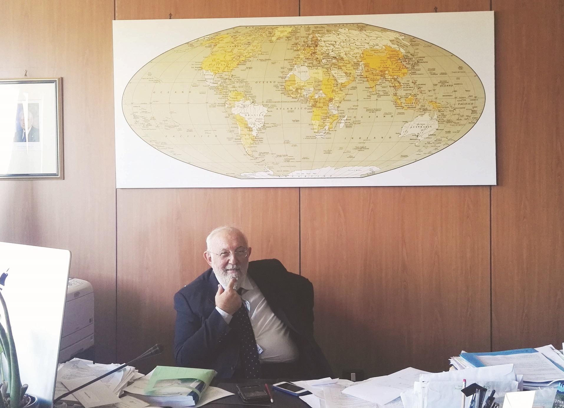 Unical, l'ultimo anno da rettore per Gino Crisci  L'intervista: «Ecco cosa serve a questo Ateneo»