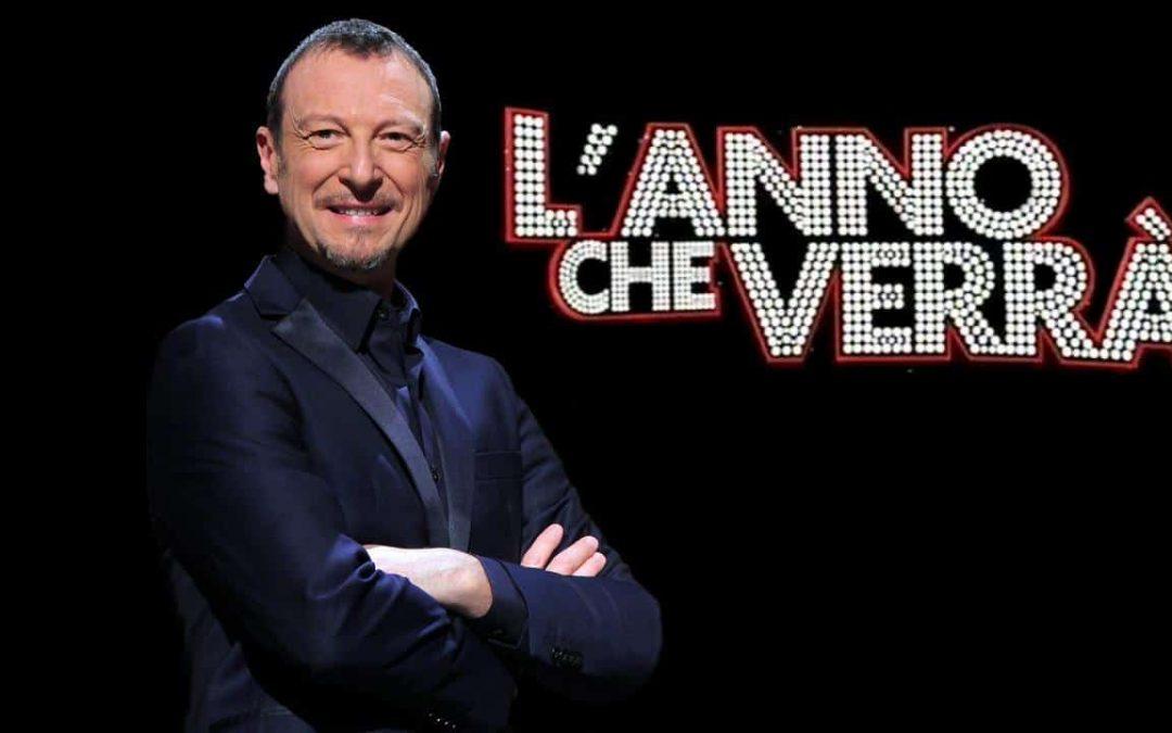 Amadeus presenterà lo spettacolo in piazza Vittorio Veneto