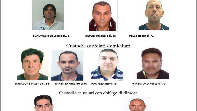 Operazione della Polizia stradale contro furti e riciclaggioArresti nel Reggino, nel Vibonese e in Lombardia